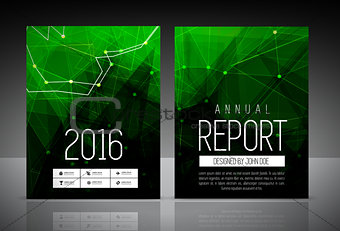 Annual report cover template