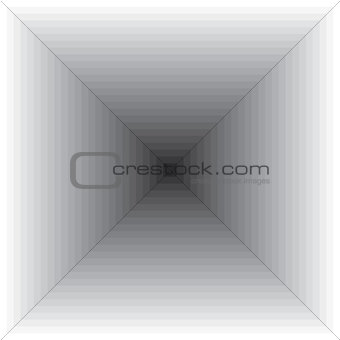 Gray square background of monochrome lines