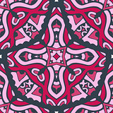 Seamless abstract tiled pattern