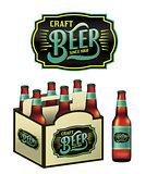 Craft Beer Bottles Illustration