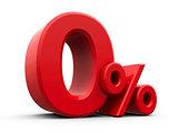 Red Zero Percent #3