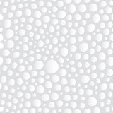 Abstract White Bubbles Seamless Background Pattern