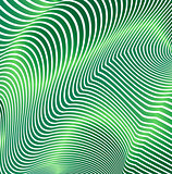 Abstract curved lines in the form of waves. Modern background. Relief zigzags.