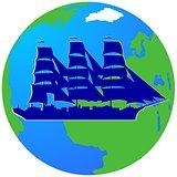 Sailing ship-1