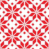 Winter knitted pattern, card - Scandinavian sweater style