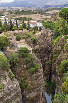 canyon in Ronda, Spain