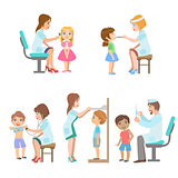 Kids On Medical Examination