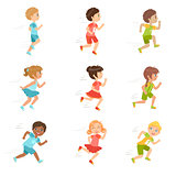 Kids Running Set