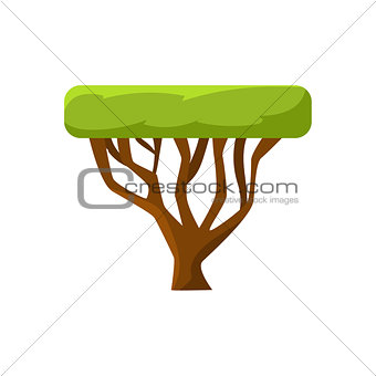 African Tree Drawing