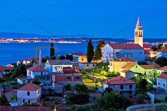 Town of Kali on Ugljan island evening view