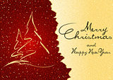 Abstract Christmas Greeting