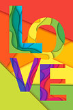 Vector Love word