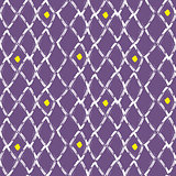 Brush stroke seamless purple mesh pattern.