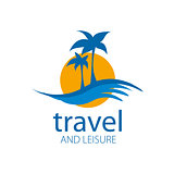 Vector logo travel