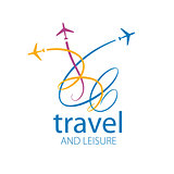 travel vector logo