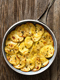 rustic french golden anna potato