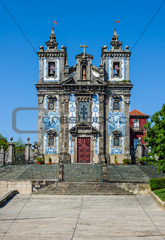 Church of Saint Ildefonso in Porto, Portugal.