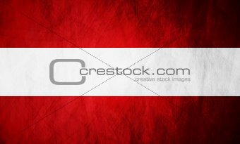 Austrian grunge flag background