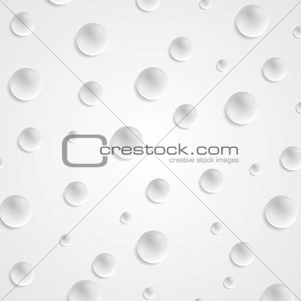 Abstract light grey circle balls background