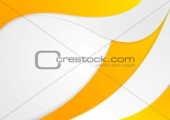 Corporate wavy background