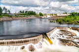 Hydropower Plant in Stornorrfors, Sweden