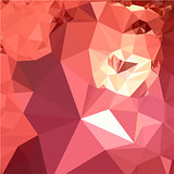 Bittersweet Red Abstract Low Polygon Background