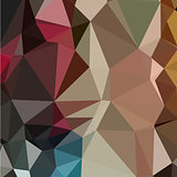 Butterscotch Brown Abstract Low Polygon Background