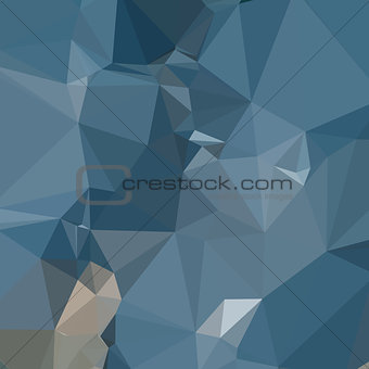 Cerulean Frost Blue Abstract Low Polygon Background