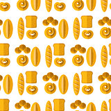 Bakery Seamless Pattern.