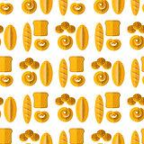 Bakery Seamless Pattern.