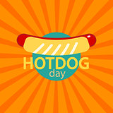vector Hotdog icon