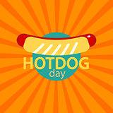 vector Hotdog icon