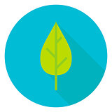 Nature Leaf Circle Icon