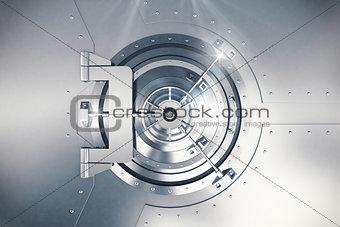 3D Rendering safe door