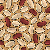 peanuts seamless background