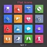 Flat Application Icons Set 7