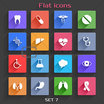 Flat Application Icons Set 7