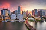 Miami, Florida Skyline