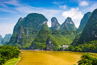 Guilin, China Karst Mountains