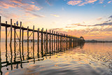 U-Bein Bridge of Myanmar