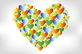 Colorful-watercolor-heart-shapes