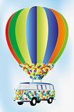 Van-with-heart-shapes-hot-air-balloon