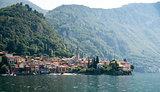Varenna town on Como lake