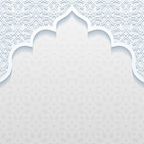 Abstract background with traditional ornament