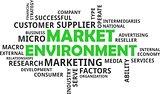 word cloud - market environment