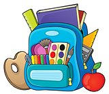 Schoolbag theme image 1