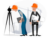 Surveyor and engineer