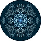 Mandala ornament design