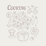 Cooking Ingredients And Attributes Set