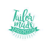 Tailor Made Vintage Emblem